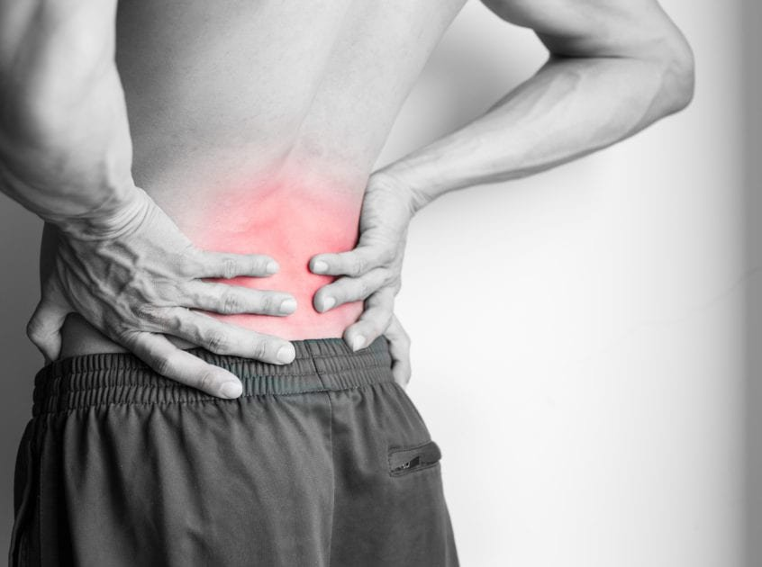 Low level laser therapy for low-back pain