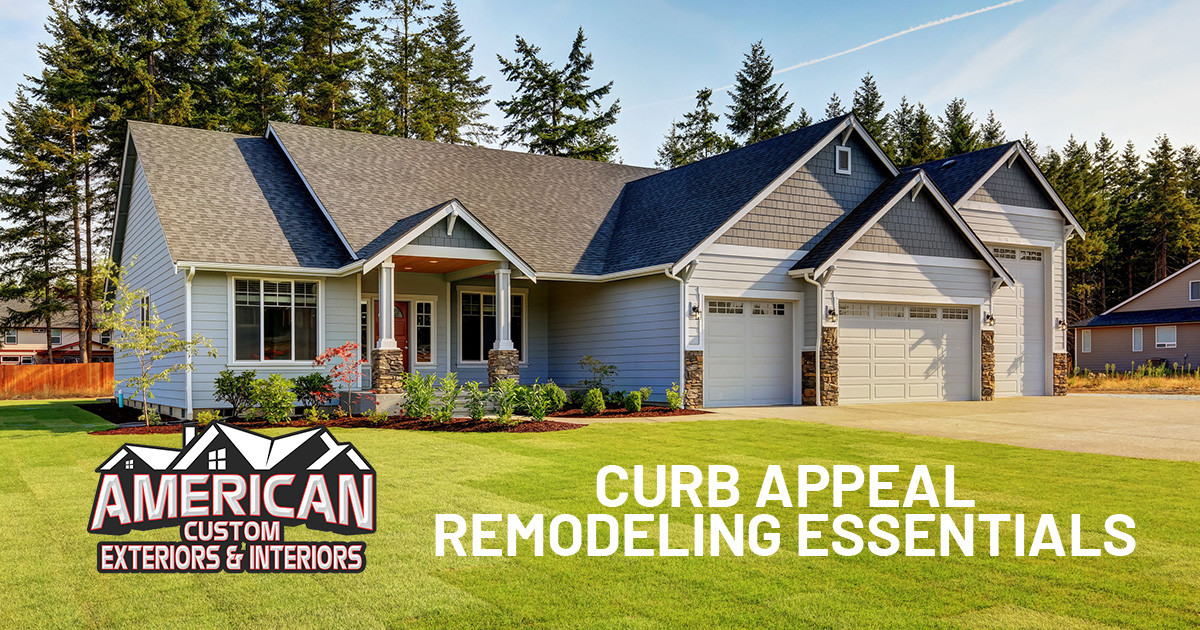Home Remodeling Projects to Boost Curb Appeal