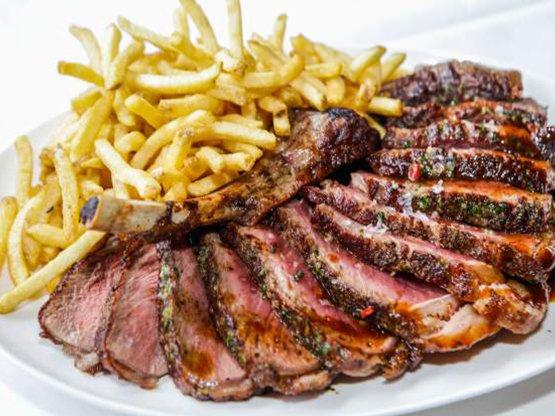 >Dry Aged Steak Frites