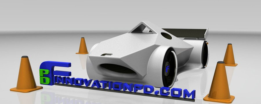 3D Printed Car Pictures | Finnovation Product Development