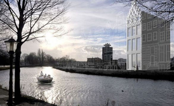 Dutch Architects to Build House Made on 3D Printers