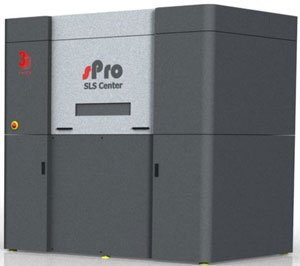 sPro SLS Center - 3D Printing Machine