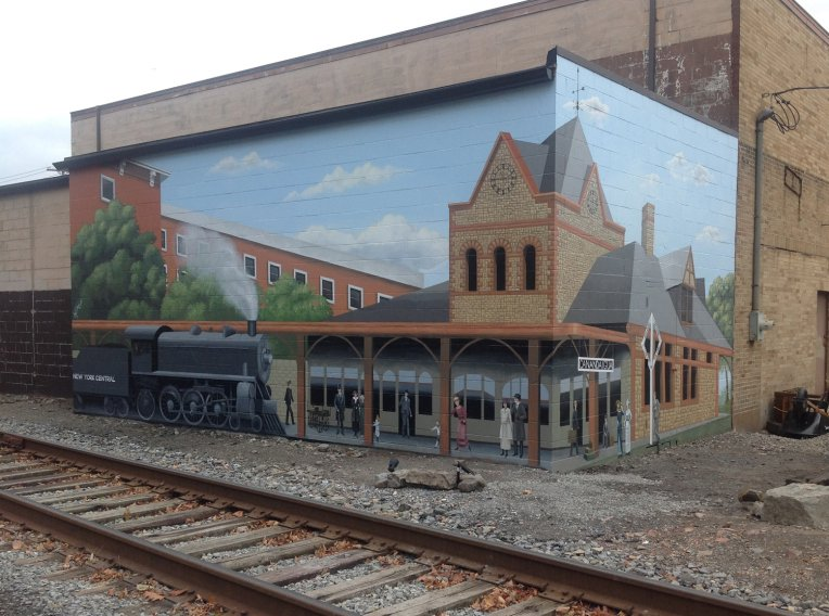 Canandaigua Train Depot Mural is Complete!