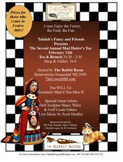 Mad Hatter's Tea: 2-12-12!