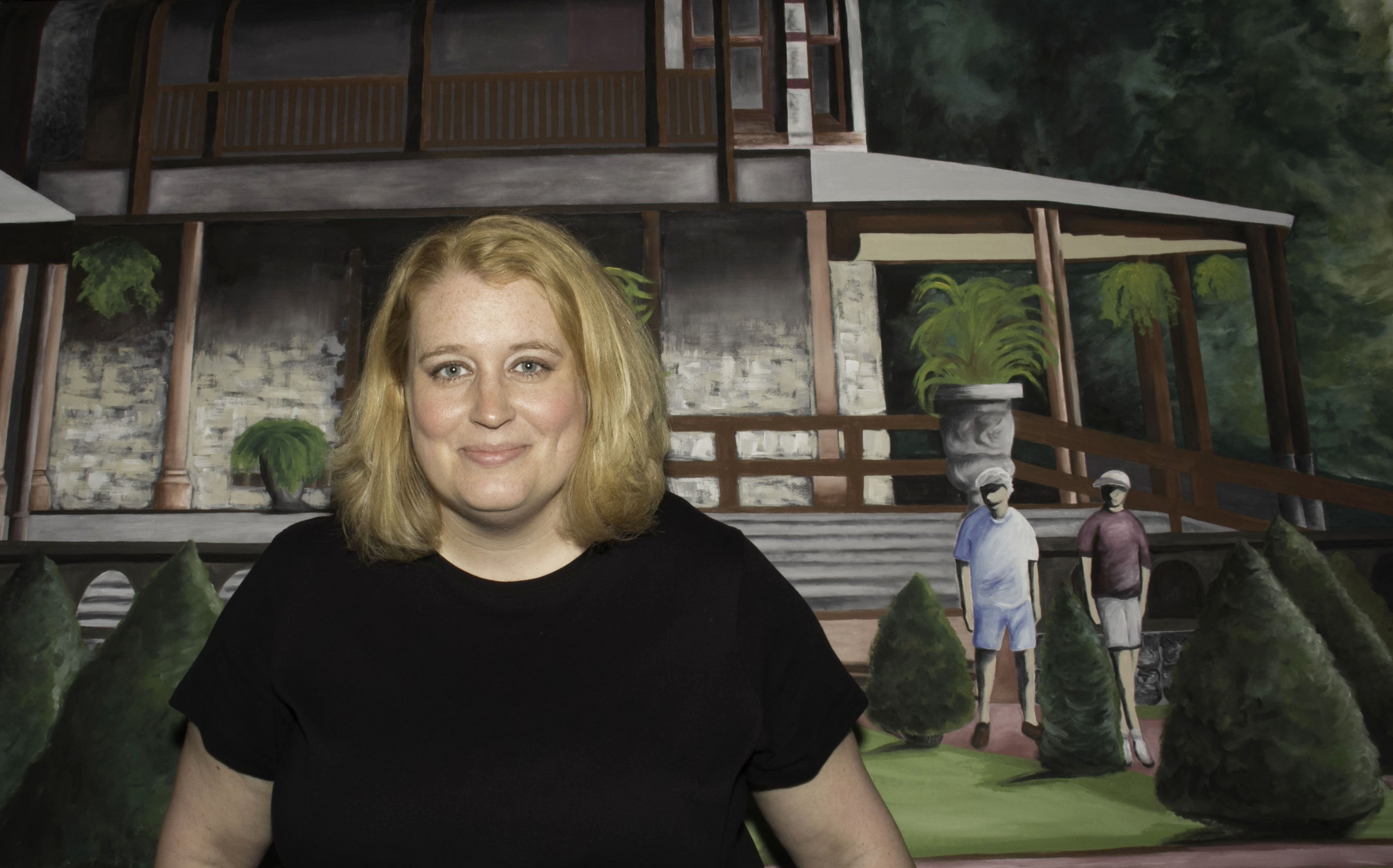 Canandaigua's Commons Park Mural: Highlighting Artist Melissa Newcomb