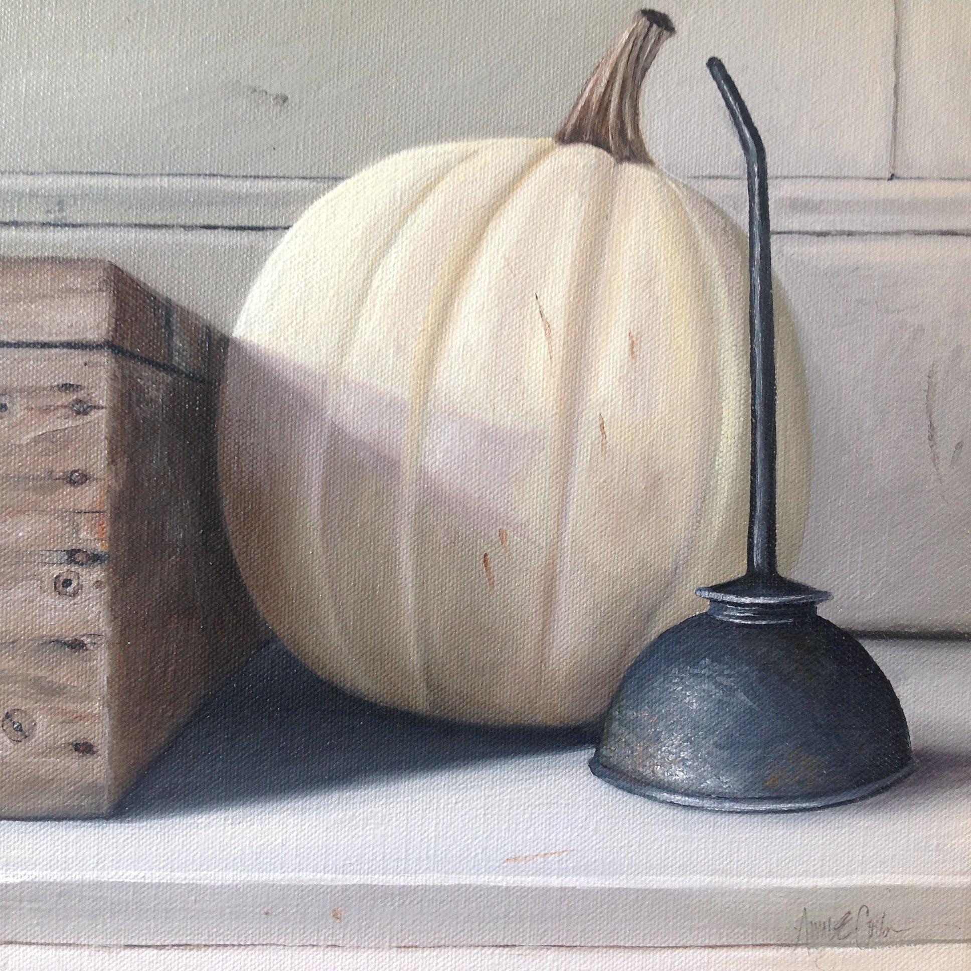 """""""Oilcan, Pumpkin"""""""