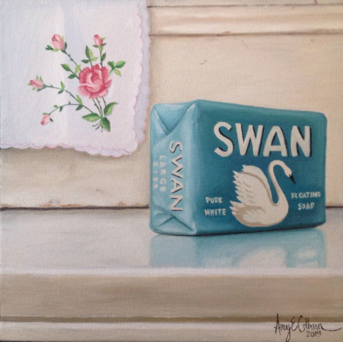 """Rose, Soap"" - SOLD"