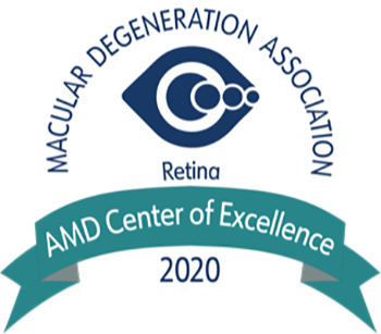 Macular Degeneration Association AMD Centers of Excellence Logo