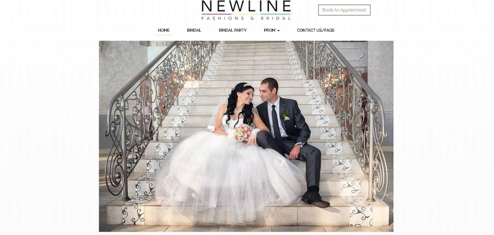 Bridal Store Website