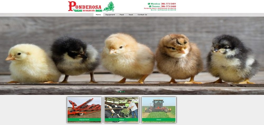 Farm Supplies Website