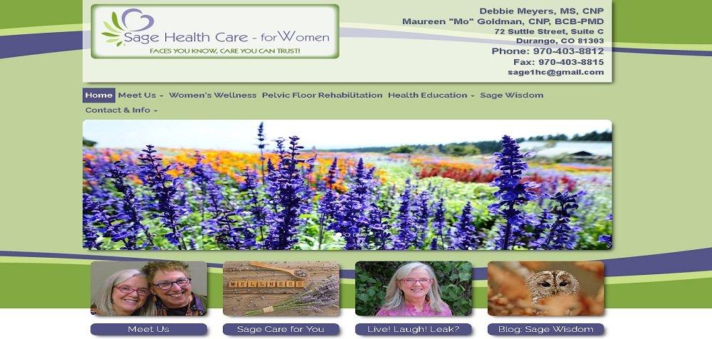 Women's Health Website
