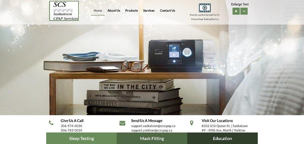 Laser Center Website