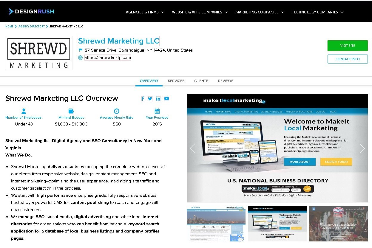 Shrewd Marketing Agency Profile on DesignRush.com
