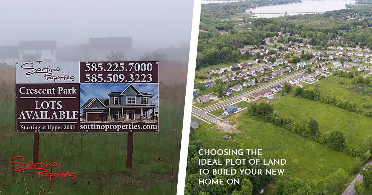 Finding the Right Plot of Land for Your New Rochester Home