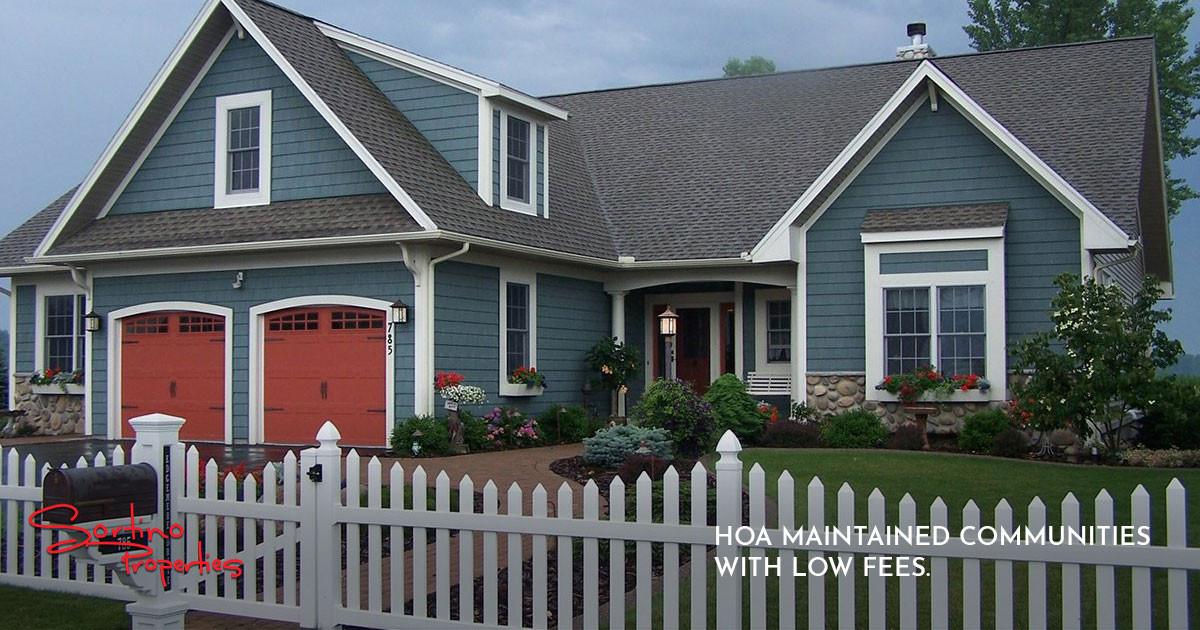 Finding HOA Maintained Communities in Rochester with Low Fees