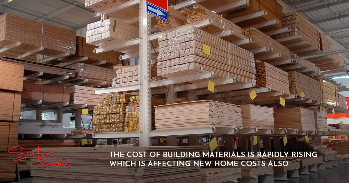 Building Material Costs are Driving Up New Home Prices