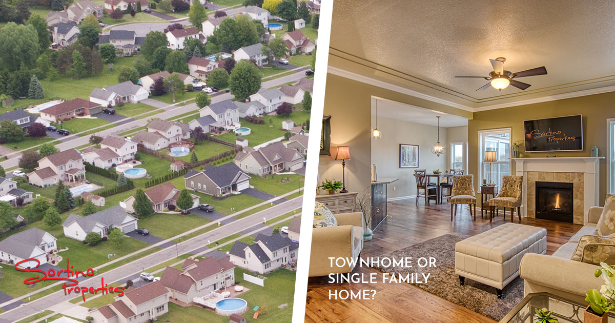 Choosing Between Townhomes and Single Family Homes