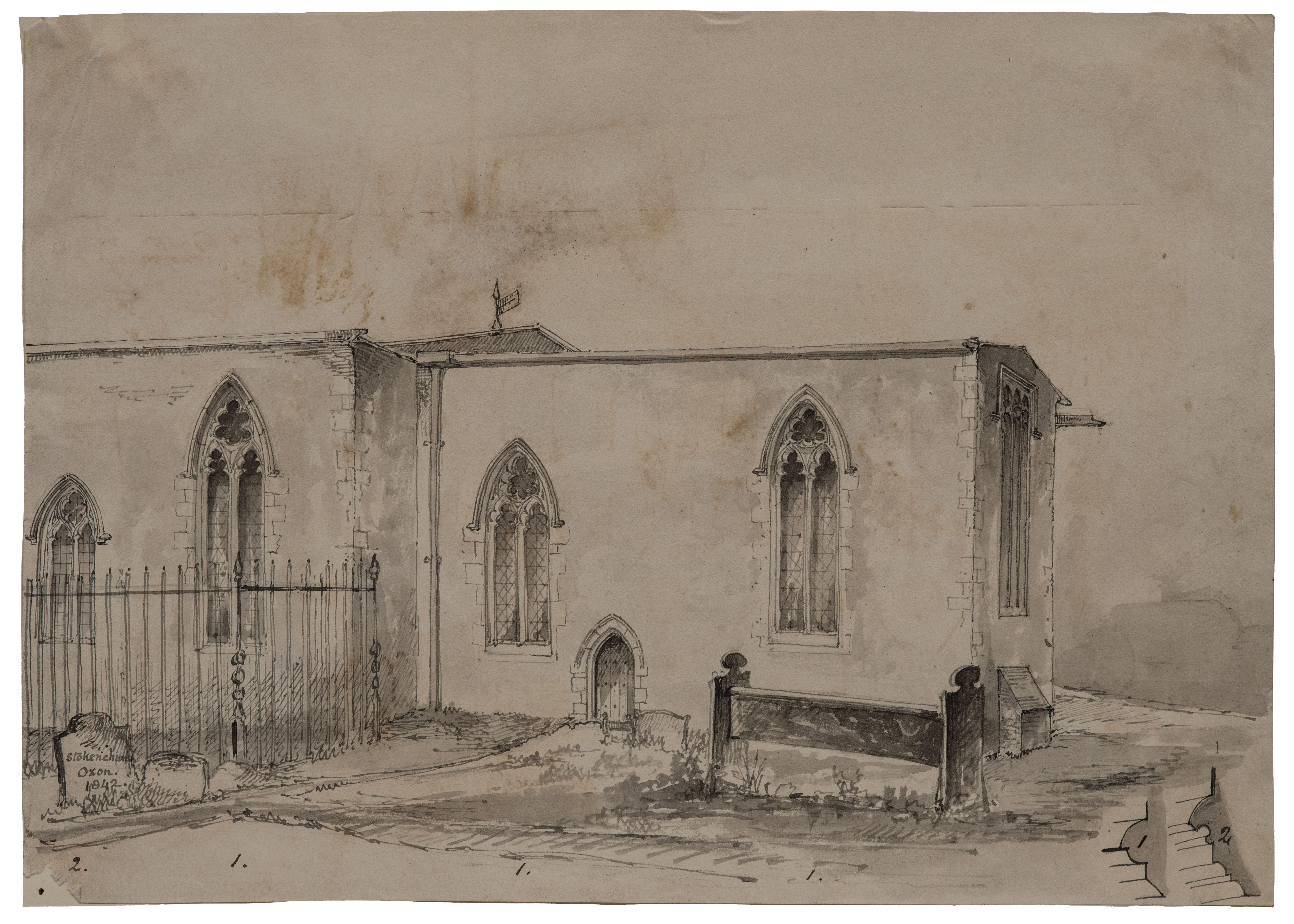 Stokenchurch British drawing