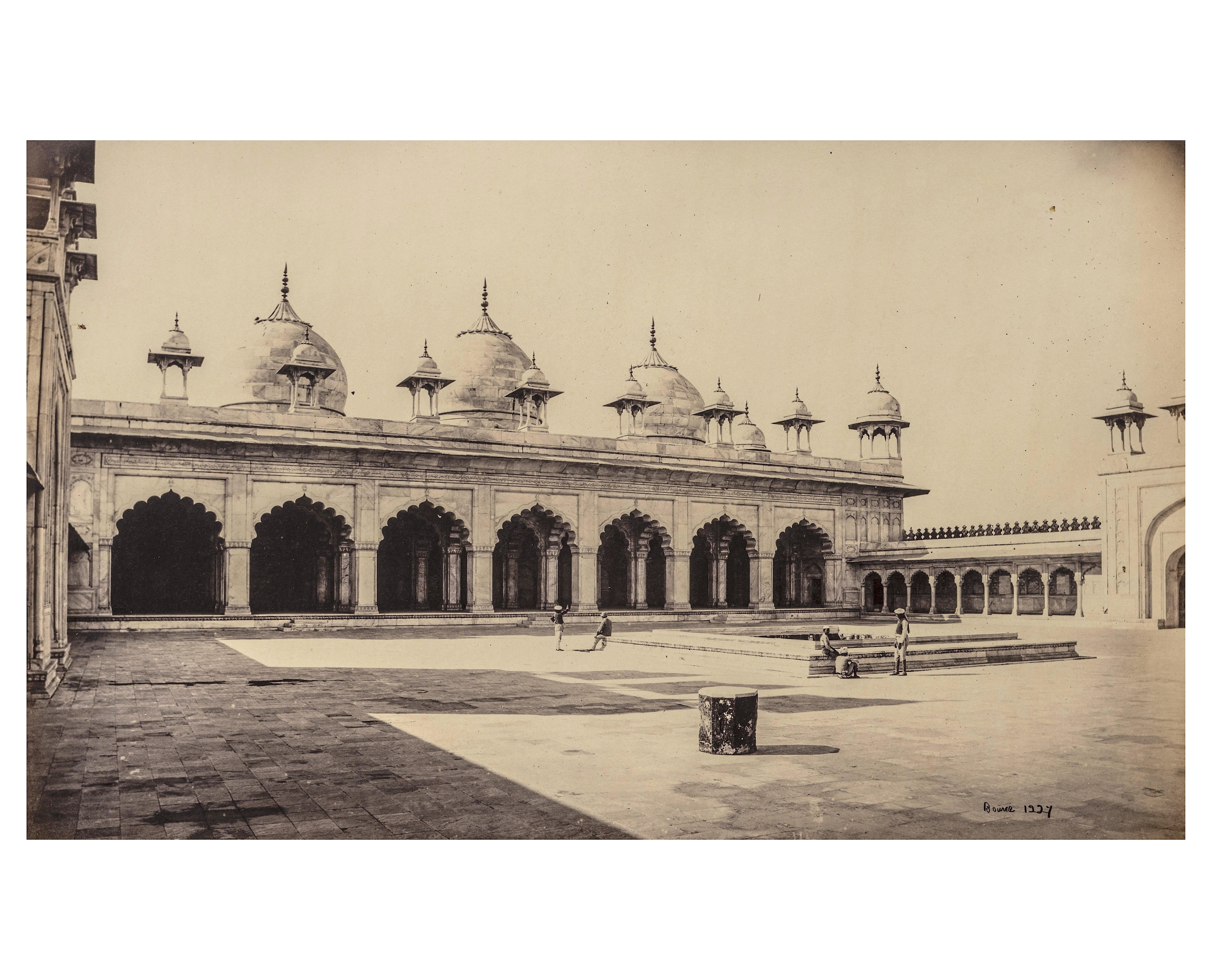 antique India photograph