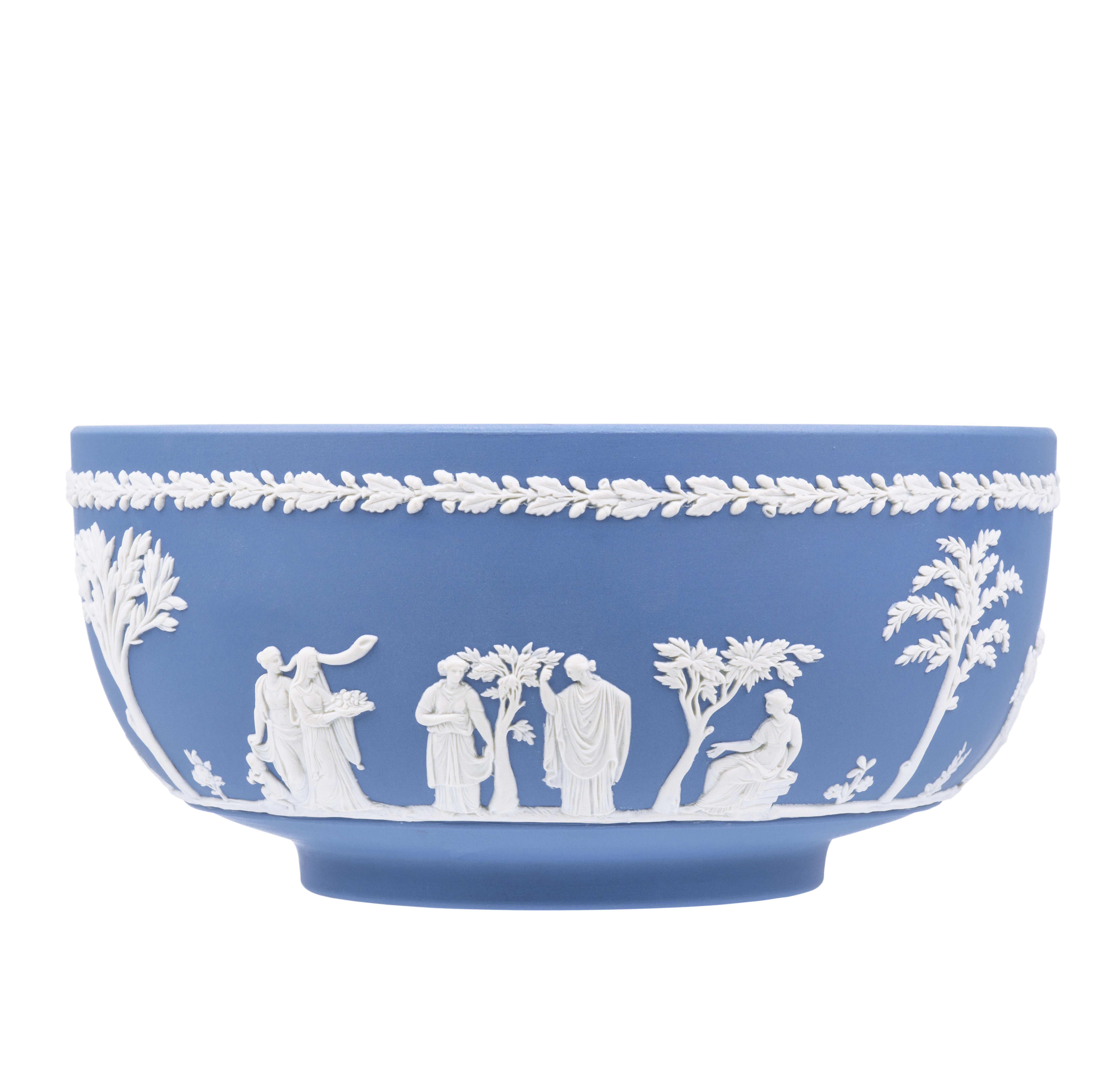 A Vintage Wedgewood Jasperware Bowl
