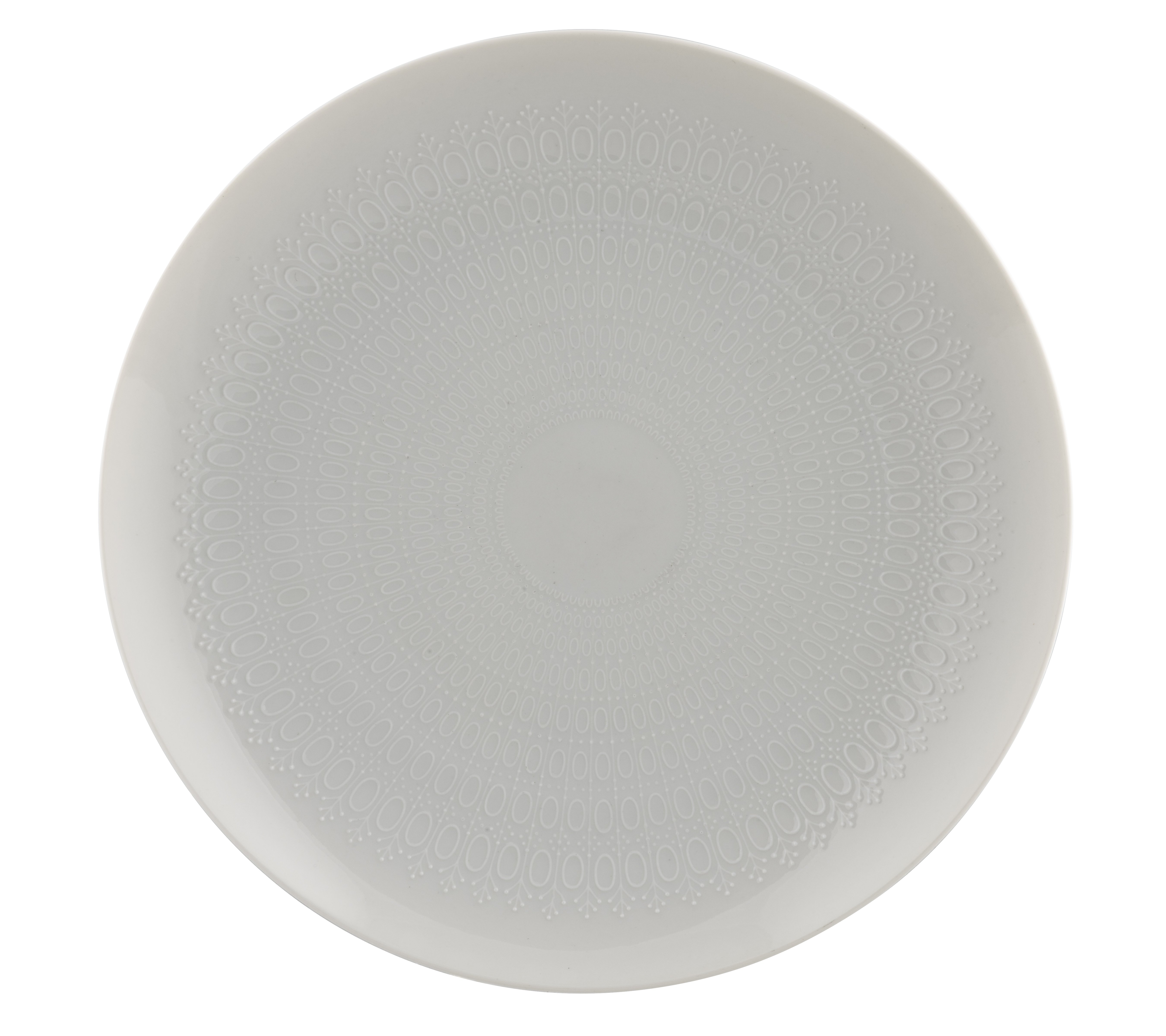 "A Rosenthal Germany Motif Studio Line Bjorn Wiinblad Romance Collection  10 25"" Dinner Plate"