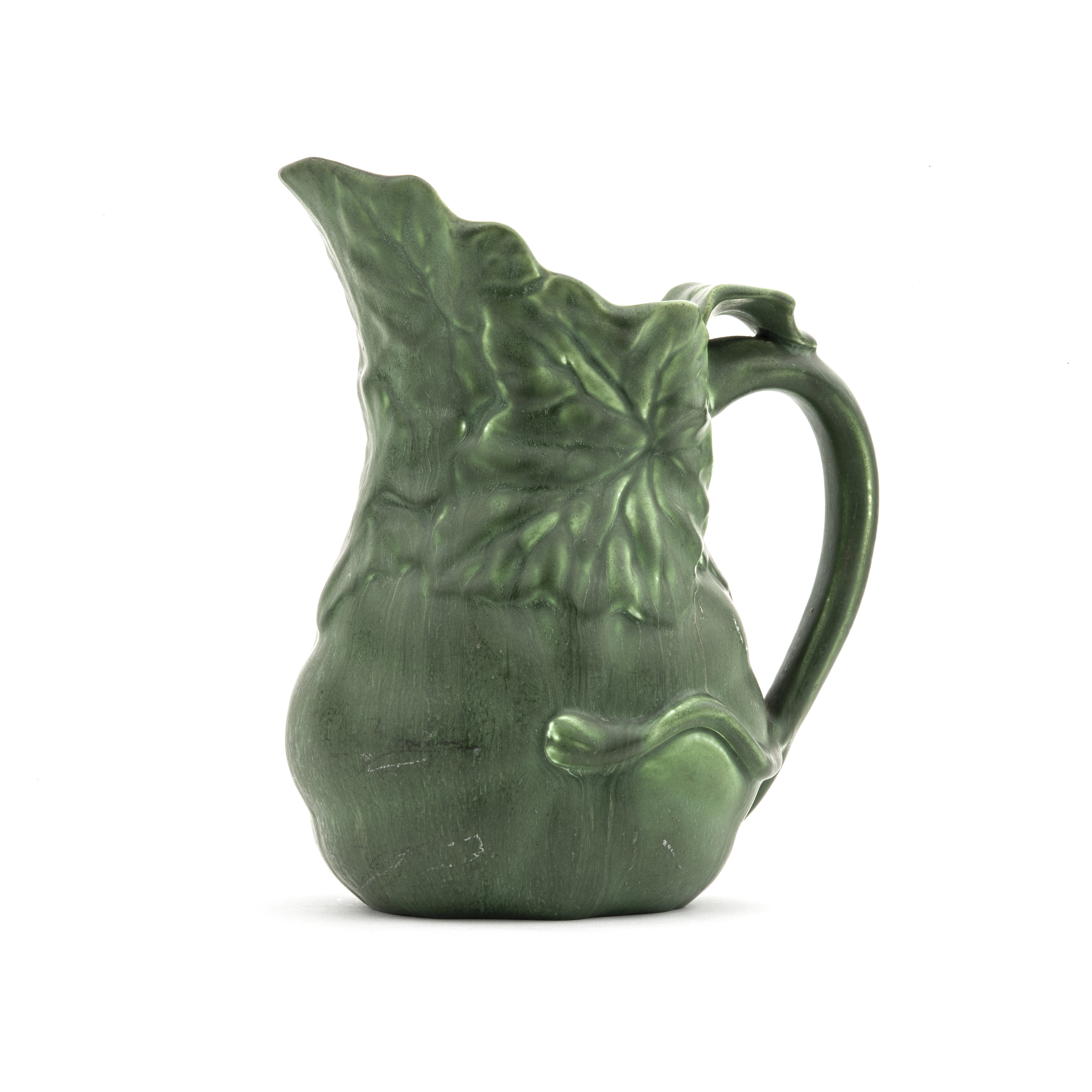 Pitcher Arts and Crafts Movement Signed Hampshire Pottery