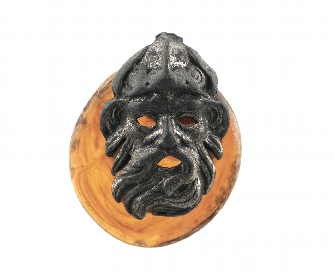 An Antique Mounted Pendant of Zeus