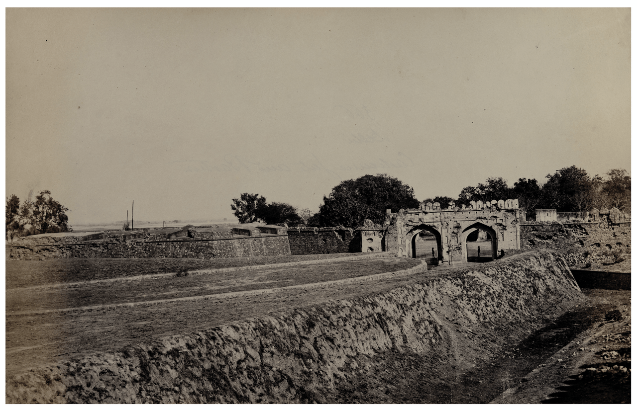 A 19th Century Albumen Print Of Delhi India Series By Charles Shepherd & Robertson