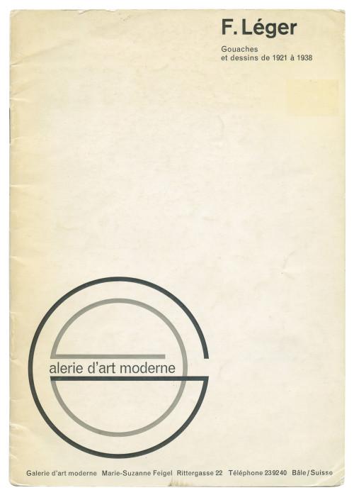 Fernand Leger Galerie D'art Modern 1921-1938 Exhibition Catalog Modern Art