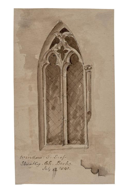 1841 British Architectural Drawing Victorian Wall Art