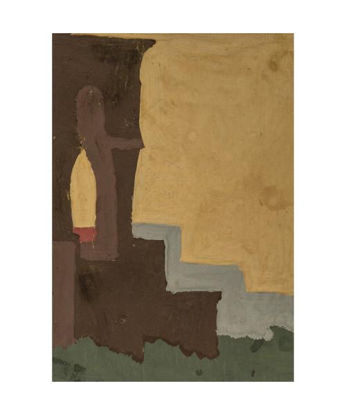 An Original Art Deco Wall Art Landscape Study Painting