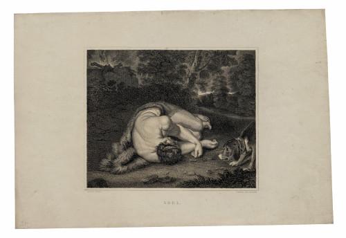 19c Antique Wall Art Print Rubens Abel