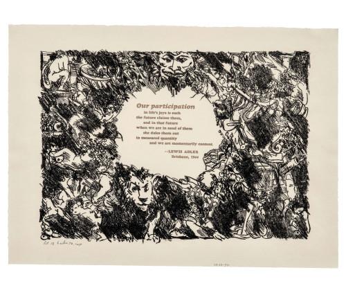 Lewis Adler art print