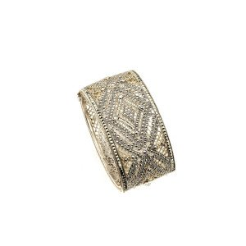 silver jewelry cuff