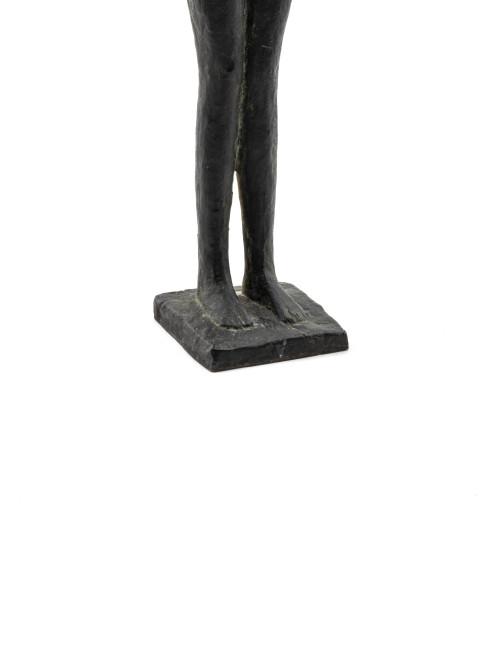 A Figural Vintage Bronze Sculpture Table Decor