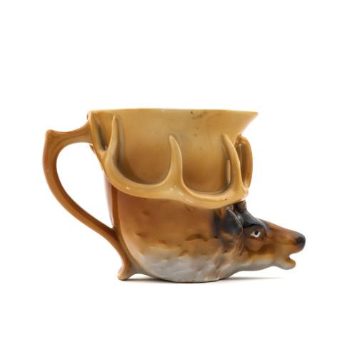 Elk deer shaving mug