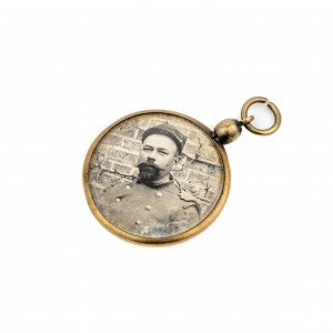 Civil War solider photograph antique jewelry pendant union solider image | Artzze