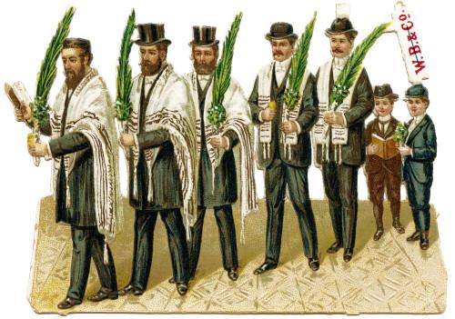 "An Antique Judaica Advertising Ephemera Card ""W.B. & Co."""