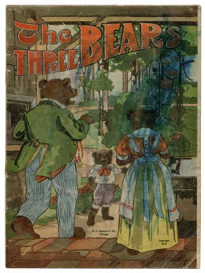 An Antique The Three Bears Illustrated Children's Book 1912 Edition