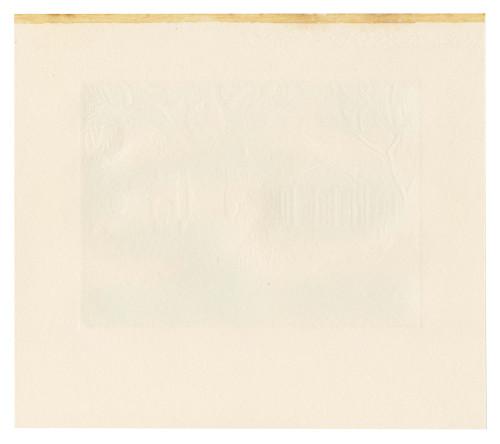 An Original Charles Turzak Woodcut Etching Signed Turzak The Sage of Monticello