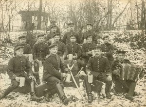 An Antique German WW1 Army Troupe Photograph