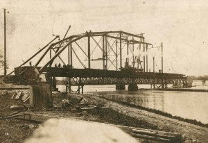 An Antique Bridge Construction Old Photograph