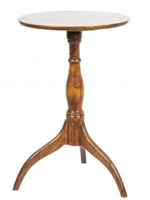 An Antique Mahogany 19th Century Side Table