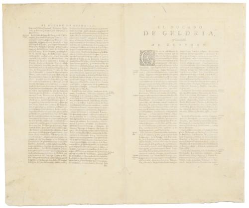1666 Jan Jansson Antique Map Dvcatvs Gelriae Pars Teria