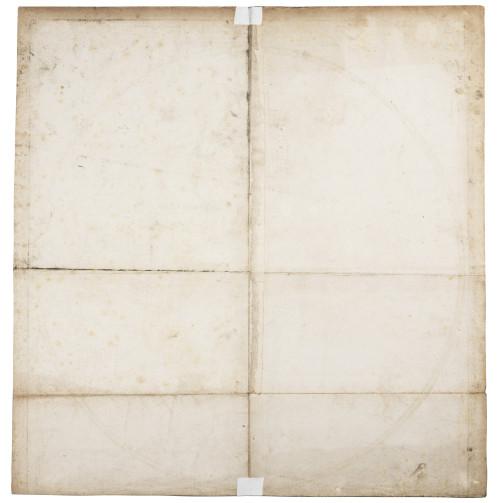 Antique 18th Century Hemisphere Occidental Monde Jean Baptiste Bourguignon D'Anville