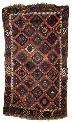 A Mid-19th Century Anatolian Yuruk Antique Carpet