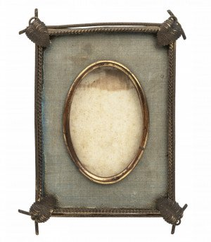An Antique Leaf & Vine Decorated Picture Frame