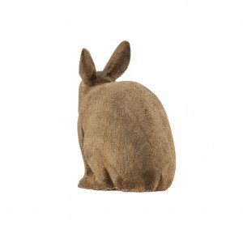 An Antique Wooden Carved Miniature Rabbit