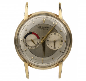 A Vintage LeCoultre Futurematic Gold Filled Wristwatch