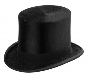 An Antique Shelton & Co. London Top Hat Size
